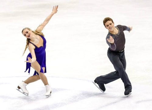 花滑世青賽冰舞長曲 帕森斯兄妹奪冠