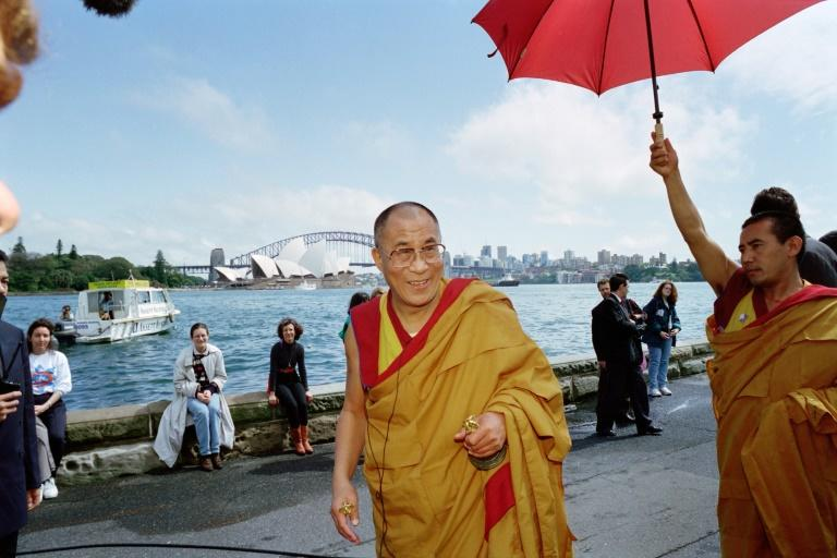 The Dalai Lama, shown here in 1996, has put out a music album to mark his 85th birthday