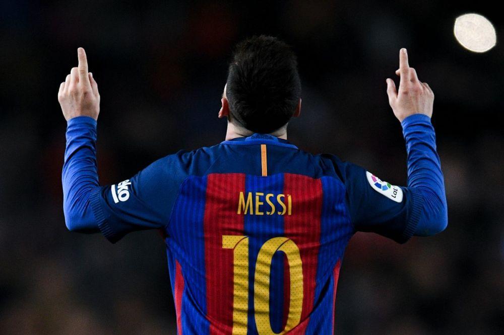 Barcelona superstar Leo Messi