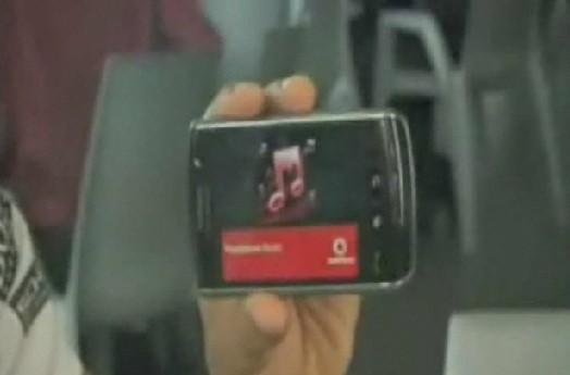 Formula 1 superstar finishes first in race to nab BlackBerry Storm