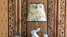 Make a Plain Lamp Shade Look Super High-End With This Easy DIY