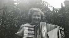 My 80-year-old accordion that played during the Blitz to drown out the bombs