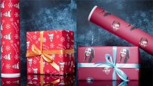You can buy wrapping paper with your face on this Christmas