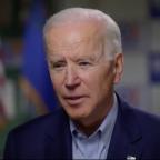 Joe Biden blasts Bernie Sanders over health care, gun control, and his supporters' online behavior