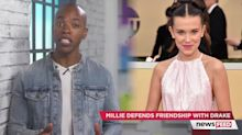 Millie Bobby Brown defends friendship with Drake