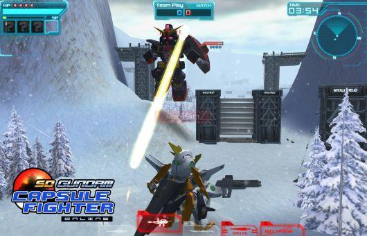 Dive into SD Gundam Online's closed beta with a key from Massively!