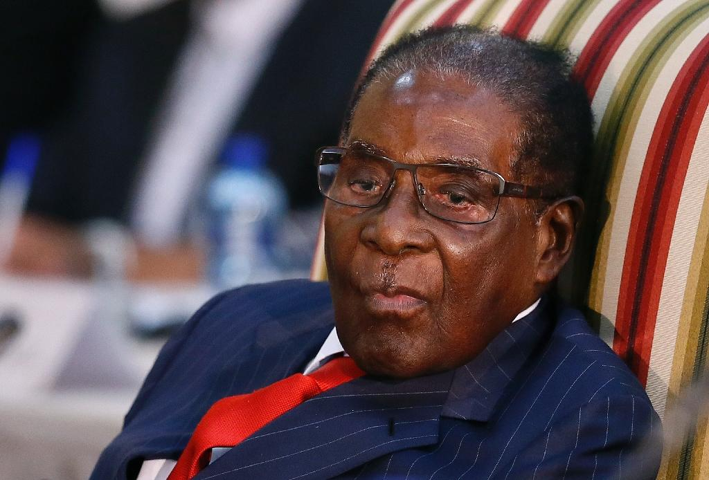 "Mugabe admitted in March that ""some errors were done"" under his authoritarian rule (AFP Photo/Phill Magakoe)"