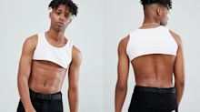 ASOS is selling a crop top for men, and opinions range from horror to awe