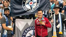 Canadian Olympians celebrated at Vancouver-Montreal derby