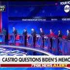 Is Joe Biden's memory fair game for rival Democratic presidential candidates?