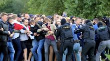 Zehntausende protestieren in Minsk erneut gegen Machthaber Lukaschenko