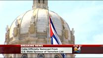 Cuba Officially Removed From U.S. State Sponsor Of Terrorism List