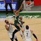 Giannis Antetokounmpo, Khris Middleton lead Bucks to narrow win over Nets in Game 3