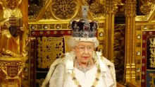 One of the reasons the Queen's Speech was delayed involves goat skin and is completely bizarre