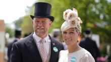 Zara and Mike Tindall join royals for first day of Ascot