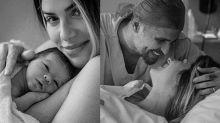 """Giovanna Ewbank e Bruno Gagliasso apresentam Zyan: """"Pais de três"""""""