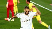 Real Madrid se consagra campeón en la liga española gracias a doblete de Benzema