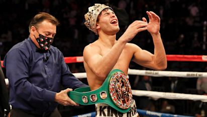 Garcia stops Campbell with ferocious body shot