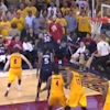 Mike Scott voluntarily gave the ball to the Cavs in overtime