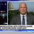 Trump slams whistleblower report as 'fake news'
