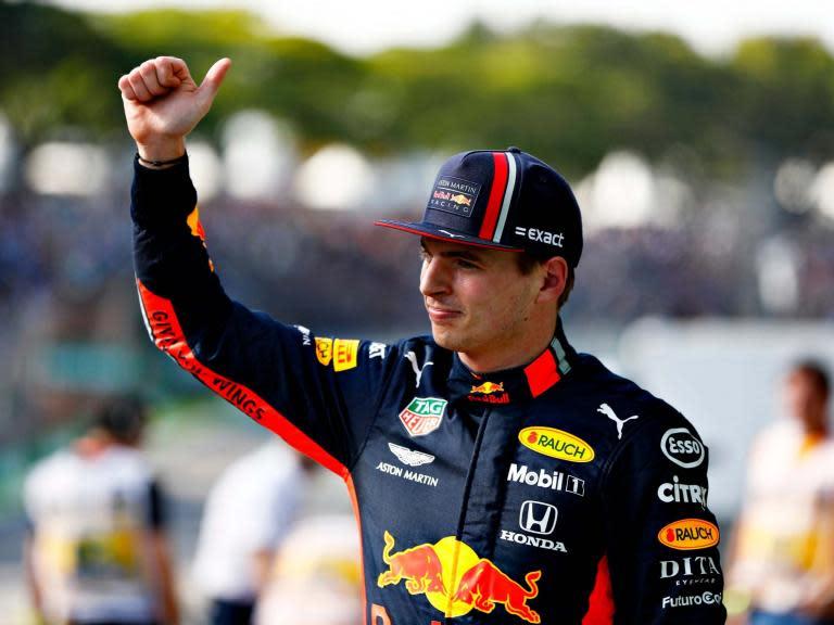 Brazilian Grand Prix: Max Verstappen clinches F1 pole ahead of Sebastian Vettel and Lewis Hamilton