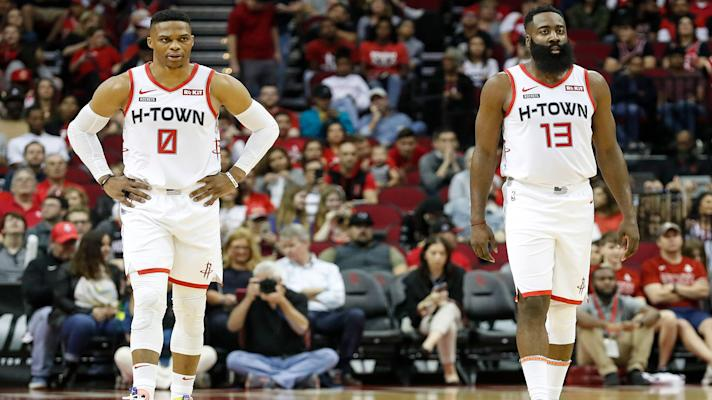 The Bounce - Rockets will need more than Harden and Westbrook in Western Conference playoffs