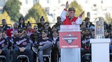 Mark Lerner says 'never any doubt' on Davey Martinez World Series promise