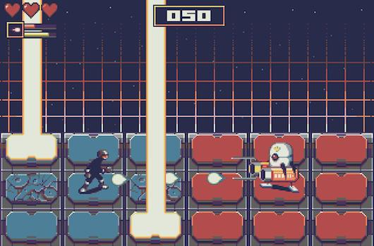 Tactical 2D shooter Trestle: cartoon aesthetic with strategy