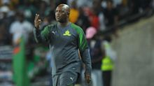 Mamelodi Sundowns winger Mkhuma reminds me of Bafana Bafana forward Tau - Mosimane