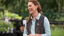 Kate Middleton returns to work wearing her favourite summer sneakers — and they're on sale for 46% off