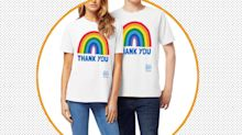 Over 100,000 people have purchased this charitable rainbow NHS T-shirt