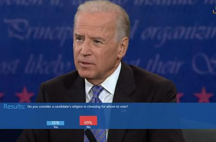 The VP debate on Xbox Live: Who won the battle for our hearts