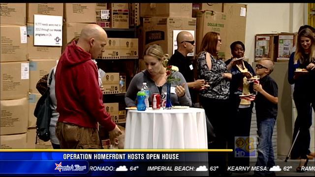 Operation Homefront hosts open house