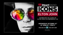 iHeartRadio ICONS with Elton John: Celebrating The Launch Of The Global Publication Of His First and Only Autobiography