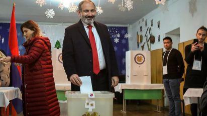 Armenia al voto, Pashinyan verso la maggioranza in Parlamento