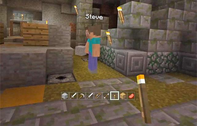 'Minecraft' arrives on Samsung's Gear VR headset