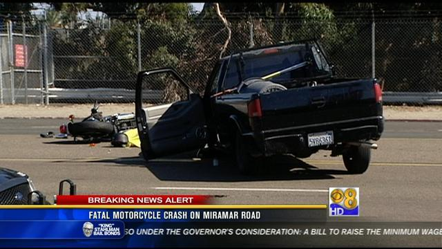 Deadly crash near MCAS Miramar