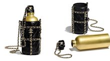 Chanel is selling a £4.5K reusable water bottle (complete with quilted lambskin holder)