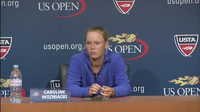 Wozniacki Press Conference