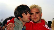 Liam Gallagher puts aside Robbie Williams feud as he offers support to singer