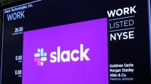 'Stay at home stock' Slack Technologies dips ahead of report
