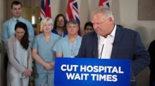 'We're doing everything we can' to end hallway medicine, says Premier Doug Ford