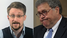 Edward Snowden credits AG Barr for memoir success: 'Best hype man that I've ever had'