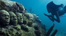 水底博物館計劃興建中 遊客必須潛水遊覽?