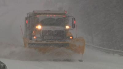 Snow, Snow and More Snow for Pa. Plow Operator