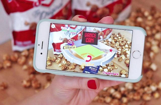 Cracker Jack ditches toys in favor of augmented reality