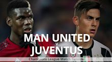 Man United v Juventus: Champions League match preview