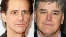 Jim Carrey savages Sean 'Manatee' Hannity with piercing new portrait