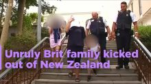New Zealand asks unruly British tourists to leave