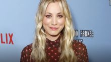 Kaley Cuoco talks about the day she found out 'The Big Bang Theory' was canceled